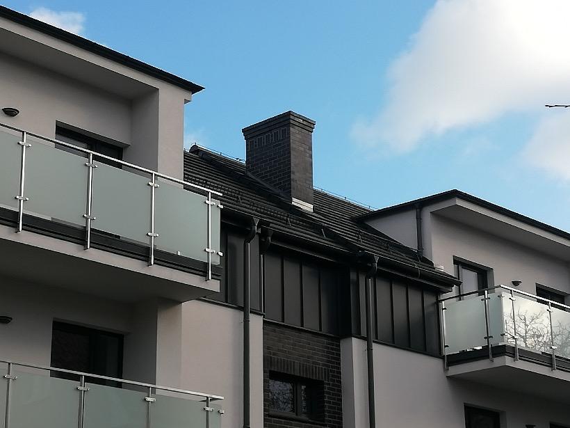 realizacja system opierzeniowy balkonu