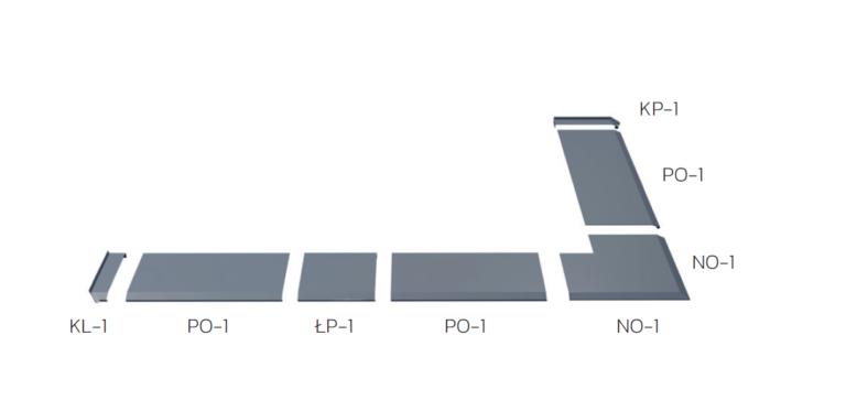 System opierzeniowy do płyty balkonowej i tarasowej niewentylowany