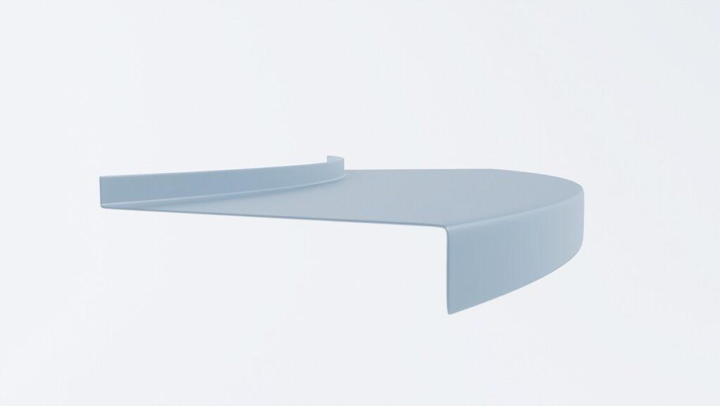 łuk aluminiowy balkonowy